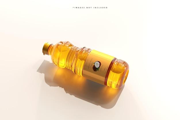 食用油瓶のモックアップ