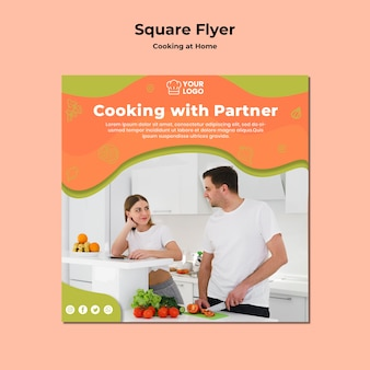 Cooking with partnersquare flyer