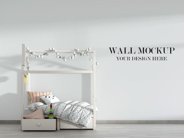 Классный и уютный макет детской стены