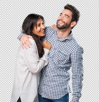 Крутая пара весело