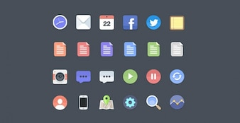 Cool social networking icons