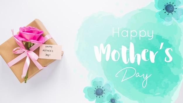 День матери макет с copyspace
