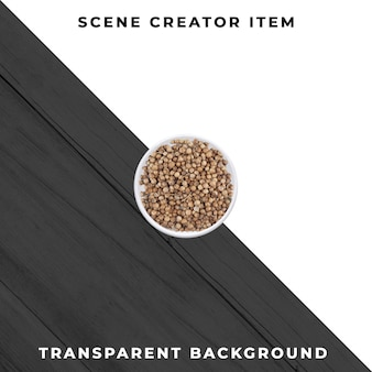 Coriander isolated with clipping path.