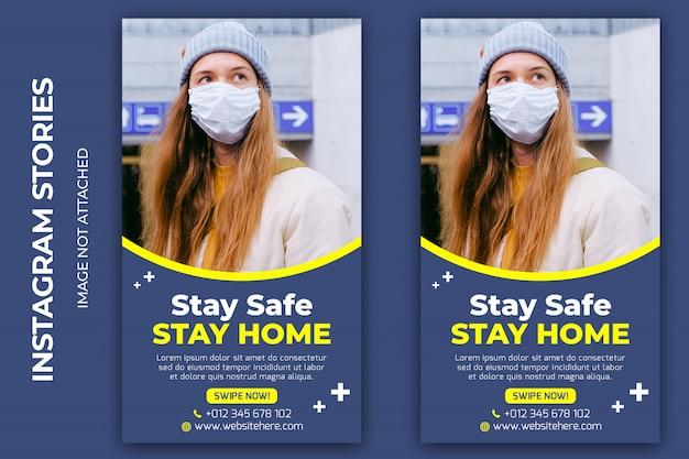 Coronavirus  social media banner