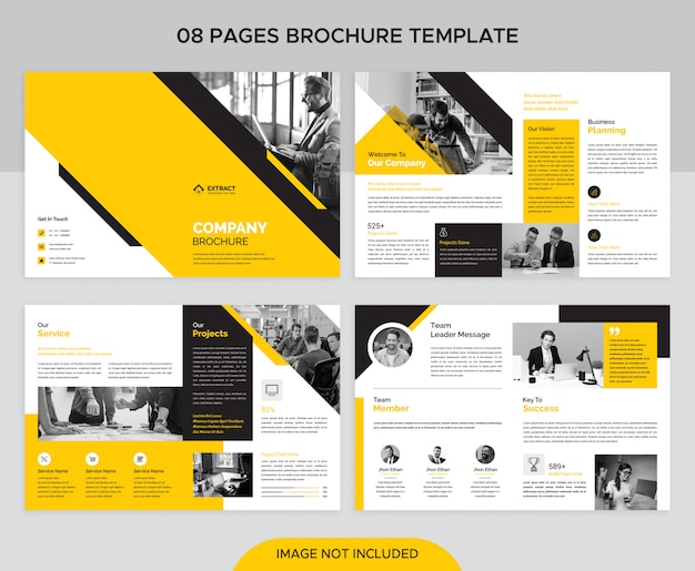 Corporate 08 pages brochure