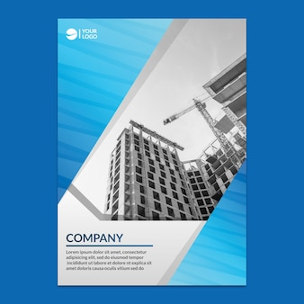 Corporate annual report mockup
