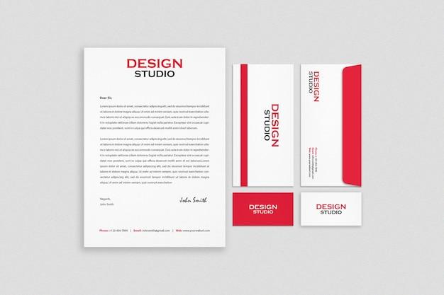 Дизайн макета фирменного стиля