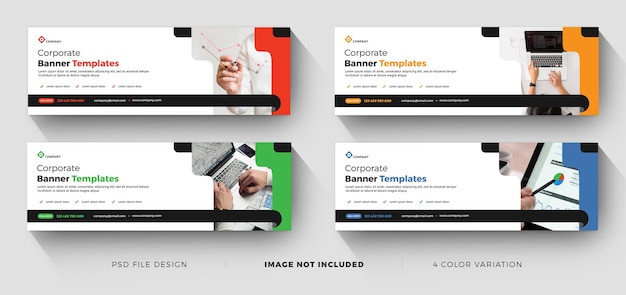 Corporate business banner templates