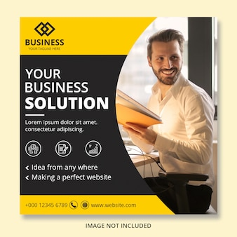 Corporate business banner