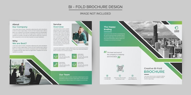 Corporate business bifold templates