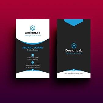 Corporate business card template design