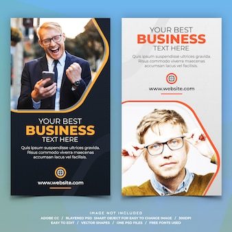 Corporate business instagram stories banner