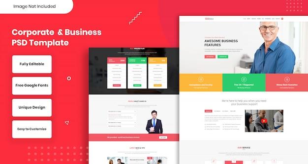 Corporate business web template