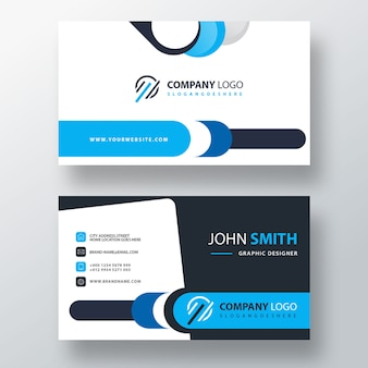 Corporate card template