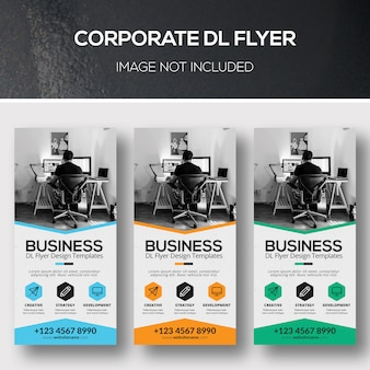 Corporate dl flyer