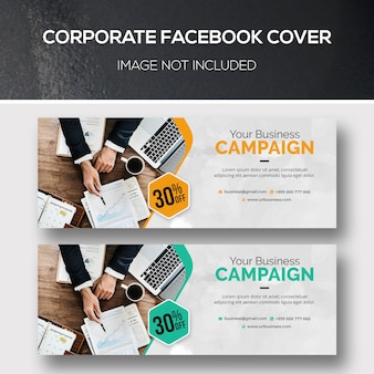 Corporate facebook cover