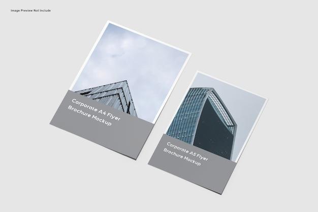 Корпоративный макет флаера