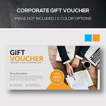 Corporate gift voucher