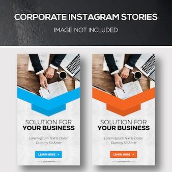 Corporate instagram stories