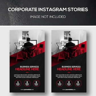Corporate instagram stories
