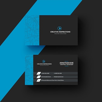 Corporate professional business card