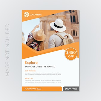 Corporate travel flyer