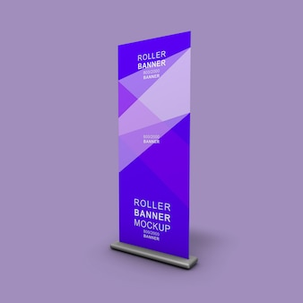 Corporate xbanner standup rollup mockup