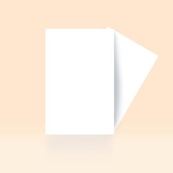 Corporative card mock up