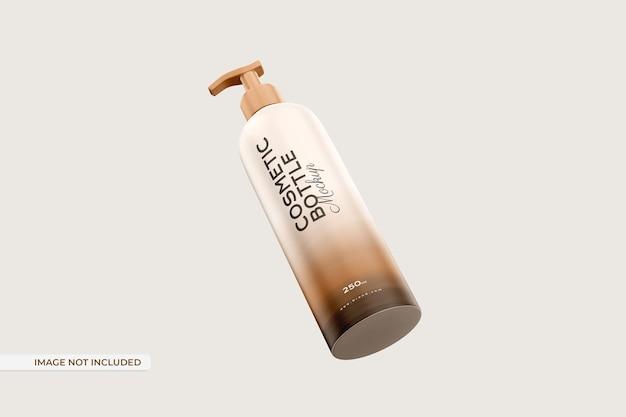 Мокап косметической бутылки
