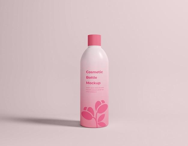 Макет упаковки косметической бутылки