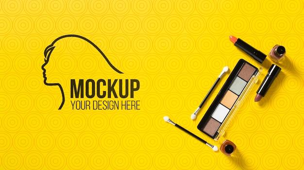 Mock-up di concetto cosmetico