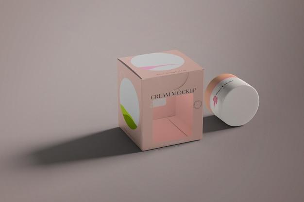 Макет косметического крема