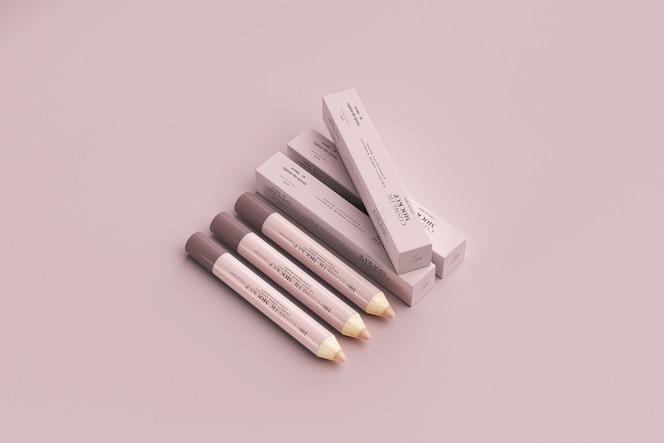 化妆品铅笔样机