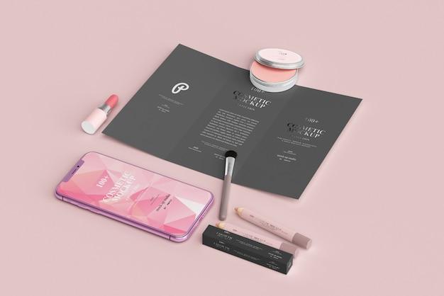 Cosmetic porduct mockups
