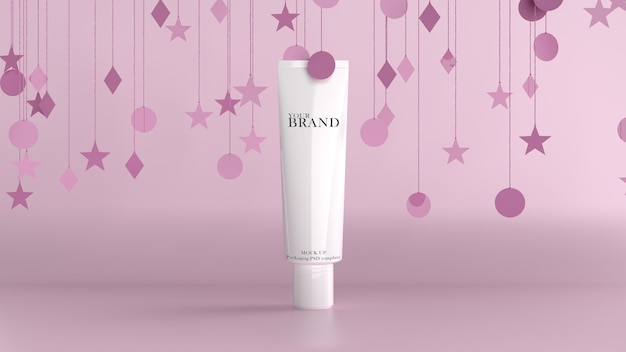 Cosmetic premium skin care moisturizing.