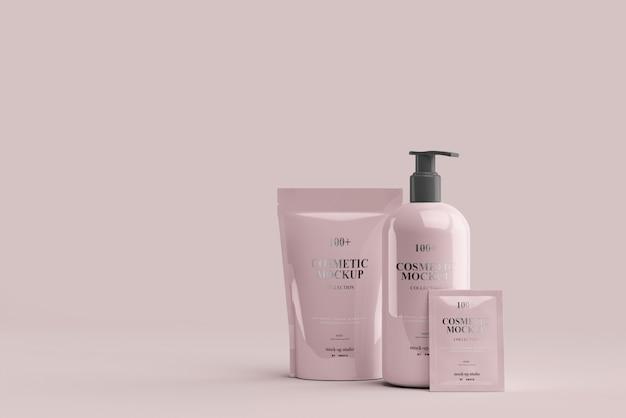 Cosmetic product mockups