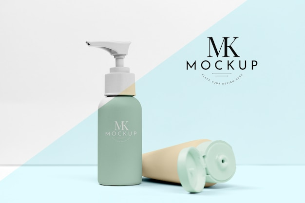 Cosmetic products mock-up