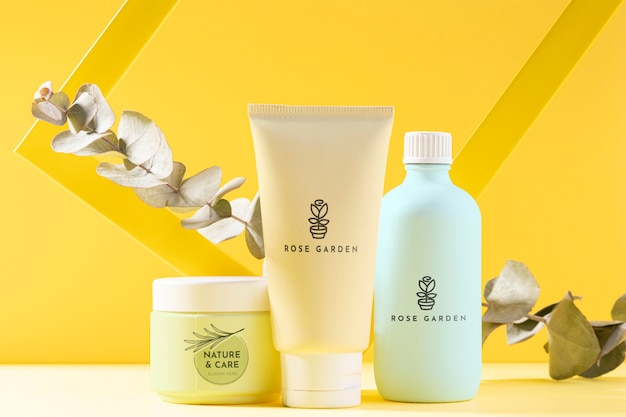 Cosmetic products with plant