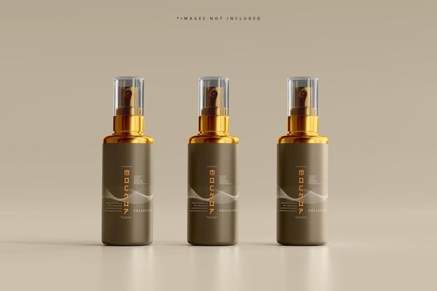 Modello di flacone spray cosmetico