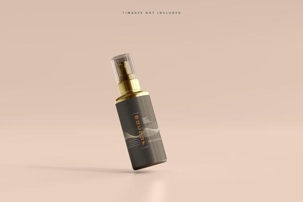 化粧品スプレーボトルモックアップ