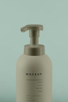 Mockup di design spray cosmetico