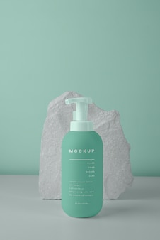Cosmetic spray design mockup