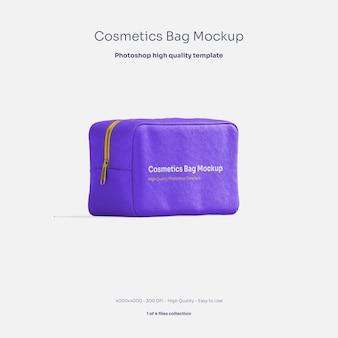 Cosmetics bag mockup
