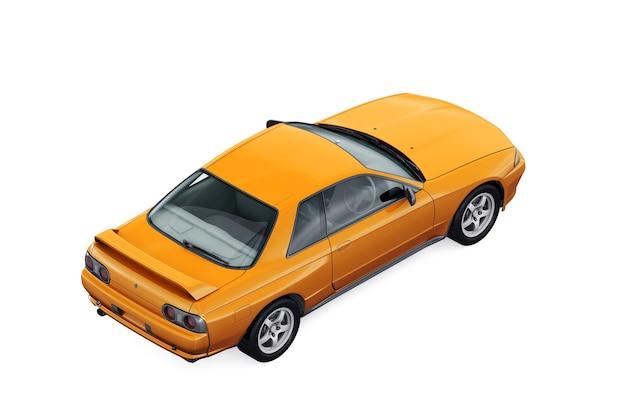 Mockup di auto coupé 1989