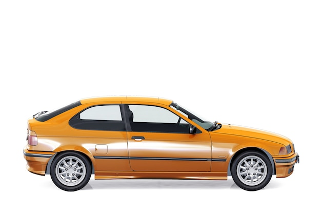 Mockup di auto coupé 1994