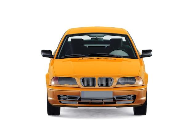 Mockup di auto coupé 2004