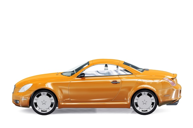 Mockup di auto coupé 2007
