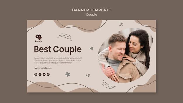 Шаблон баннер концепции пара