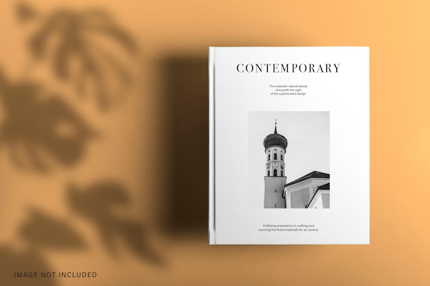 Cover book mockup design