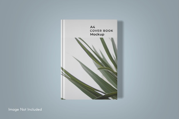 Изолированный макет обложки книги